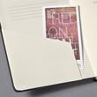 Notizbuch CONCEPTUM Softwave punktkariert A4 213x295mm 194Seiten schwarz Hardcover Sigel CO108 Produktbild Additional View 5 S