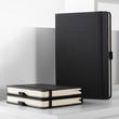 Notizbuch CONCEPTUM Softwave punktkariert A4 213x295mm 194Seiten schwarz Hardcover Sigel CO108 Produktbild Back View S