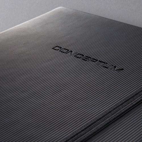 Notizbuch CONCEPTUM Softwave punktkariert A4 213x295mm 194Seiten schwarz Hardcover Sigel CO108 Produktbild Additional View 8 L