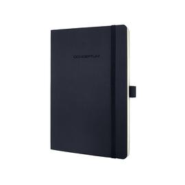 Notizbuch CONCEPTUM Softwave punktkariert A5 135x210mm 194Seiten dark grey Softcover Sigel CO309 Produktbild