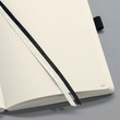 Notizbuch CONCEPTUM Softwave punktkariert A5 135x210mm 194Seiten dark grey Softcover Sigel CO309 Produktbild Additional View 9 S