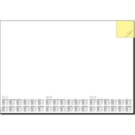 Schreibunterlage Memo mit integriertem Haftnotizblock 41x59,5cm 30Blatt Papier Sigel HO490 Produktbild