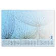 Schreibunterlage Drops mit 3-Jahres Kalender 41x59,5cm 30Blatt Papier Sigel HO450 Produktbild