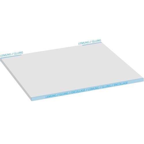 Schreibunterlage Drops mit 3-Jahres Kalender 41x59,5cm 30Blatt Papier Sigel HO450 Produktbild Additional View 4 L
