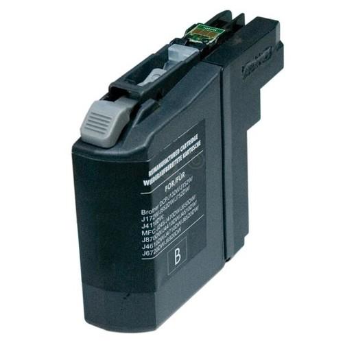 Tintenpatrone (LC-223BK) für Brother DCP-J4120DW 11,8ml schwarz BestStandard Produktbild Front View L