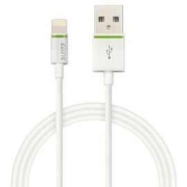 USB-Kabel Complete Lightning 1m weiß Leitz 6212-00-01 Produktbild