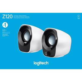 PC Lautsprecher Z120 USB Stereo 2.0 1,2 Watt Logitech 980-000513 Produktbild
