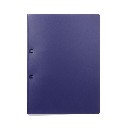 Schlaufenhefter 230x315mm für 30Blatt dunkelblau PP Durable 2503-07 Produktbild
