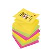 Haftnotizen Post-it Super Sticky Z-Notes 76x76mm Rio de Janeiro Z-Faltung Papier 3M R3306SR (PACK=6x90 BLATT) Produktbild