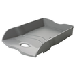 Briefkorb LOOP für A4 259x63x351mm dunkelgrau Kunststoff HAN 10290-191 Produktbild