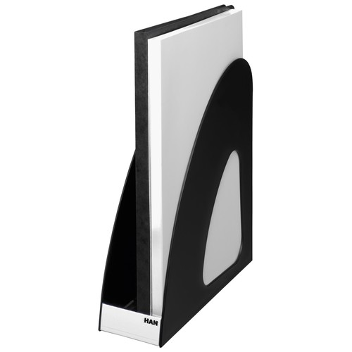 Stehsammler LOOP A4 76x239x275mm schwarz Kunststoff HAN 16210-13 Produktbild Additional View 3 L