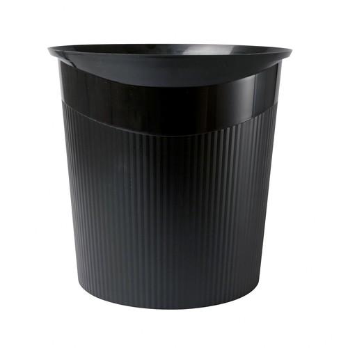 Papierkorb LOOP 13l schwarz Kunststoff HAN 18140-13 Produktbild