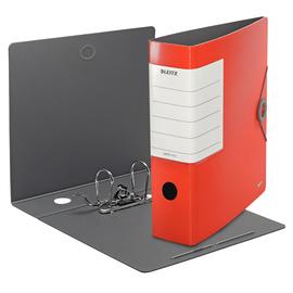 Ordner 180° Solid A4 82mm hellrot Kunststoff Leitz 1112-00-20 Produktbild