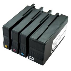 Tintenpatrone (C2P43AE) Multipack für Officejet 8100/8600 schwarz/cyan/ magenta/yellow BestStandard Produktbild