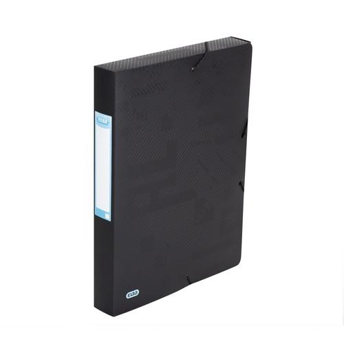 Sammelbox Urban 240x320mm 40mm Rücken schwarz PP Elba 400104371 Produktbild Front View L