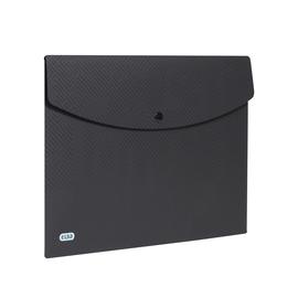 Dokumententasche A4 mit Druckknopf schwarz PP Elba 400104470 (PACK=5 STÜCK) Produktbild