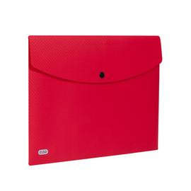 Dokumententasche A4 mit Druckknopf rot PP Elba 400104471 (PACK=5 STÜCK) Produktbild