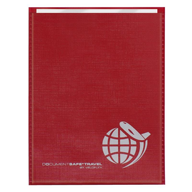 Schutzhüllen DOCUMENTSAFE für ePass 100x135mm rot Veloflex 3257800 Produktbild