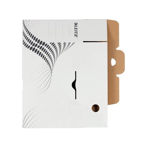 Archivbox easyboxx 100x250x350mm Rückenbreite 100mm weiß Leitz 6132-00-00 Produktbild Additional View 3 L