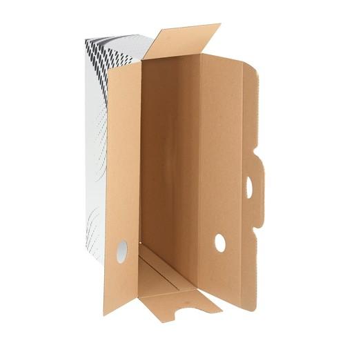 Archivbox easyboxx 100x250x350mm Rückenbreite 100mm weiß Leitz 6132-00-00 Produktbild Additional View 4 L