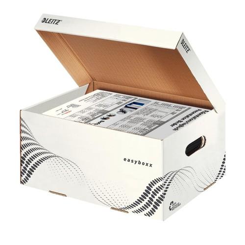 Archiv Container easybox mit Deckel Größe S 355x193x252mm weiß Leitz 6135-00-00 Produktbild Additional View 2 L