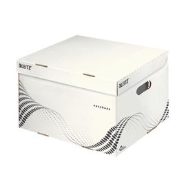 Archiv Container easybox mit Deckel Größe M 367x263x325mm weiß Leitz 6136-00-00 Produktbild