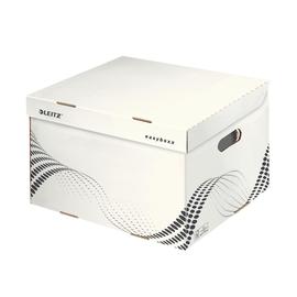 Archiv Container easyboxx mit Deckel Größe L 433x263x364mm weiß Leitz 6137-00-00 Produktbild