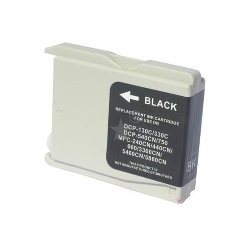 Tintenpatrone (LC-1000BK) für DCP-130C/ DCP-330C 840 Seiten schwarz BestStandard Produktbild Front View L
