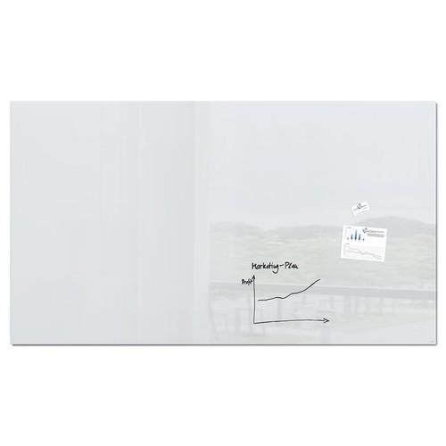 Glas-Magnetboard artverum 2400x1200x18mm super-weiß inkl. Magnete Sigel GL235 Produktbild Front View L