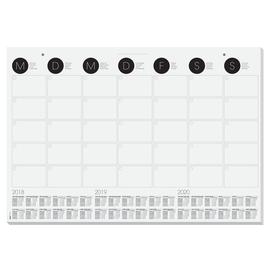 Schreibunterlage mit 3-Jahres Kalender 41x59,5cm 12Blatt Papier Sigel HO550 Produktbild