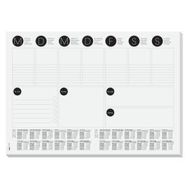 Schreibunterlage mit 2-Jahres Kalender 420x297mm 30Blatt Papier Sigel HO506 Produktbild