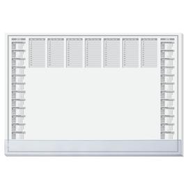 Schreibunterlage Protect transparente Schutzleiste und 2-Jahres Kalender 41x59,5cm 40Blatt Papier Sigel HO366 Produktbild