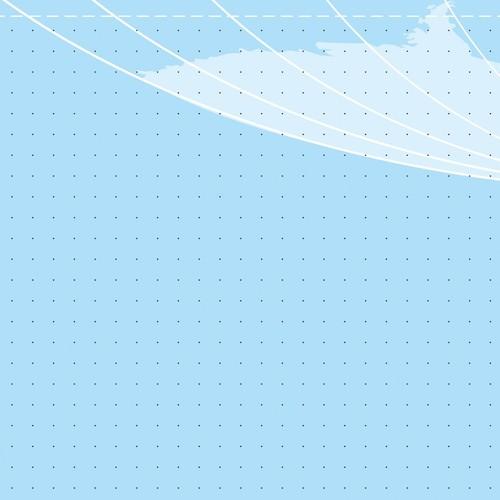 Schreibunterlage Weltkarte mit 2-Jahres Kalender 41x59,5cm 30Blatt Papier Sigel HO440 Produktbild Additional View 2 L