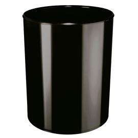Papierkorb mit Alu-Einsatz schwer entflammbar 13l schwarz HAN 1814-S-13 Produktbild
