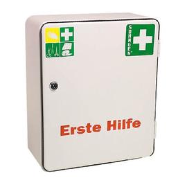 Erste-Hilfe-Verbandschrank Heidelberg 30x36x14cm weiß gefüllt nach DIN 13157 Söhngen 5001001 Produktbild