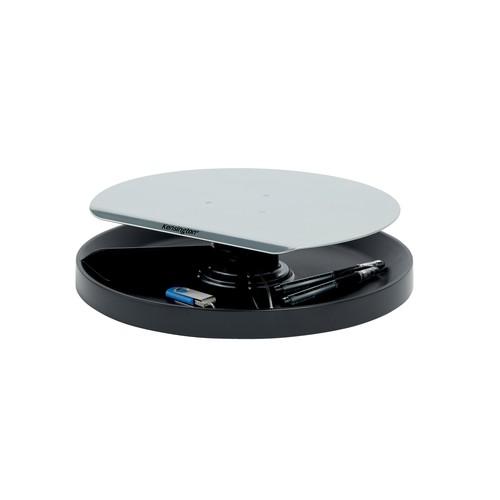 Monitor Ständer SmartFit Spin Station 343x102x343mm Metall/Kunststoff schwarz Kensington K52787WW Produktbild Additional View 1 L