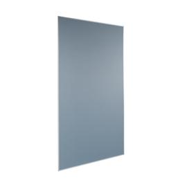 Pinnwand mobil grau mit Aluminiumrahmen 90x180cm Sigel MU010 Produktbild