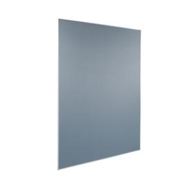 Pinnwand mobil grau mit Aluminiumrahmen 120x180cm MU011 Produktbild