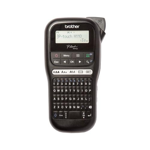 Beschriftungsgerät P-Touch H110 für TZe-Bänder Brother PTH110ZG1 Produktbild Front View L