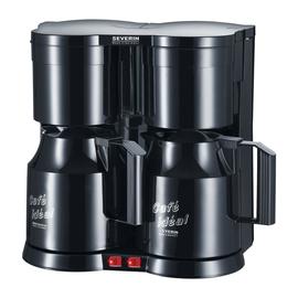 Kaffeemaschine Duo SEVERIN max. 8 Tassen KA 5828 schwarz Produktbild