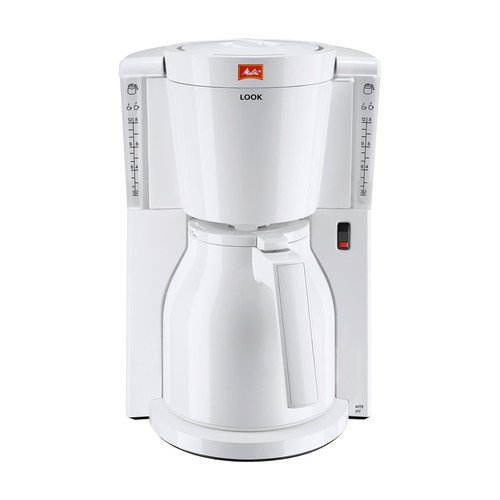 Kaffeemaschine Look IV Therm weiß 1011-09 Melitta Produktbild Front View L