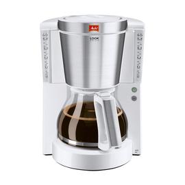 Kaffeemaschine Look de Luxe weiß/silber 1011-05 Melitta Produktbild