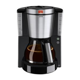 Kaffeemaschine Look DeLuxe schwarz/silber 1011-06 Melitta Produktbild