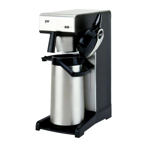 Kaffeemaschine TH ohne Kanne schwarz/silber 8.010.040.31002 BRAVILOR BONAMAT Produktbild Front View L