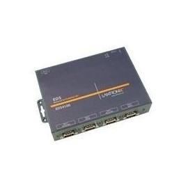Lantronix Device Server EDS 4100 - Geräteserver - 4 Anschlüsse - 100Mb LAN, RS-232, RS-422, RS-485 Produktbild
