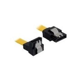 DeLOCK Cable SATA - SATA-Kabel - Serial ATA 150/300/600 - SATA (W) bis SATA (W) - 20 cm - nach unten gewinkelter Produktbild