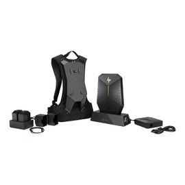 HP Workstation Z VR Backpack G1 - Rucksack PC - 1 x Core i7 7820HQ / 2.9 GHz - RAM 32 GB - SSD 512 GB - NVMe, HP Produktbild