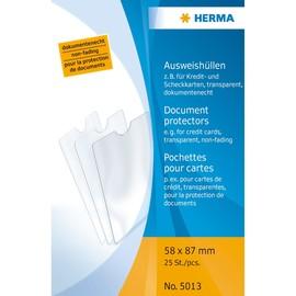 Ausweishülle 58x87mm transparent Herma 5013 Produktbild