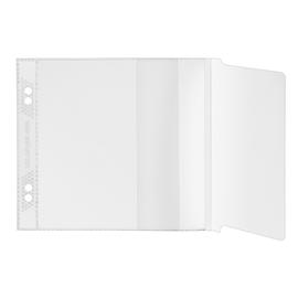 CD Hülle mit Laschenverschluss ohne Schutzvlies zum Abheften transparent PP Veloflex 4366100 (PACK=100 STÜCK) Produktbild
