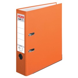 Ordner maX.file protect A4 80mm orange PP Herlitz 10556470 Produktbild